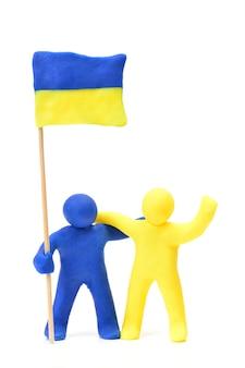 Ucraniana de bandeira
