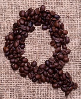 Últimos grãos de café