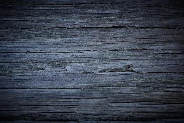 Um antigo fundo cinza de superfície de madeira