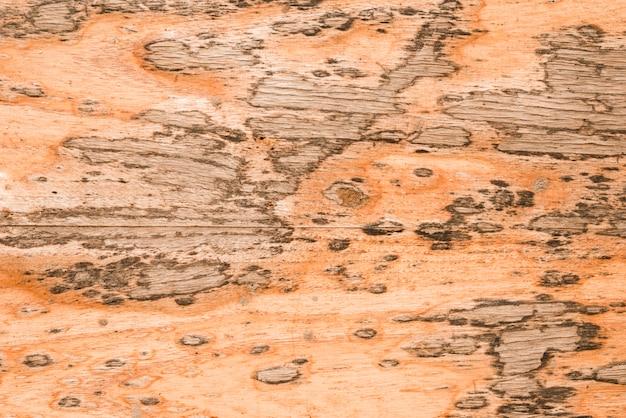 Um antigo plano de fundo texturizado de madeira