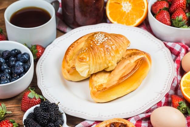 Um café da manhã