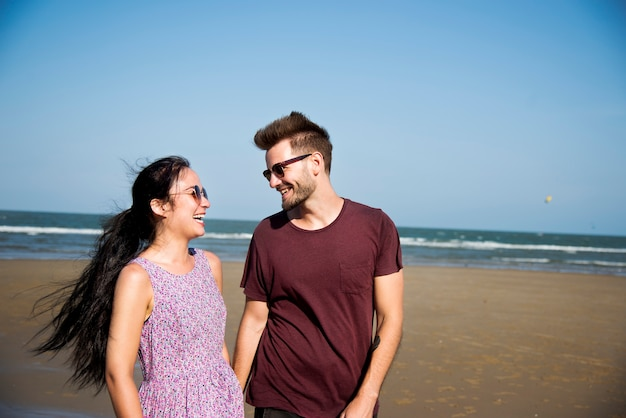 Um casal de férias