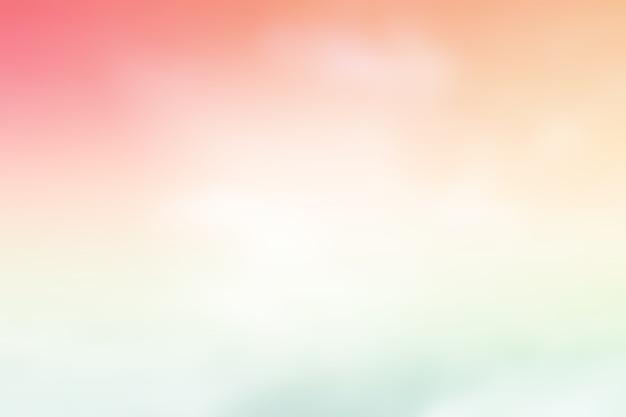 Um, céu macio, com, nuvem, fundo, em, pastel, cor, gradação abstrata, cor pastel