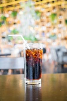 Um copo de cola