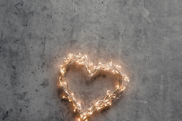Um coração brilhante. dia dos namorados. namoro dia dos namorados