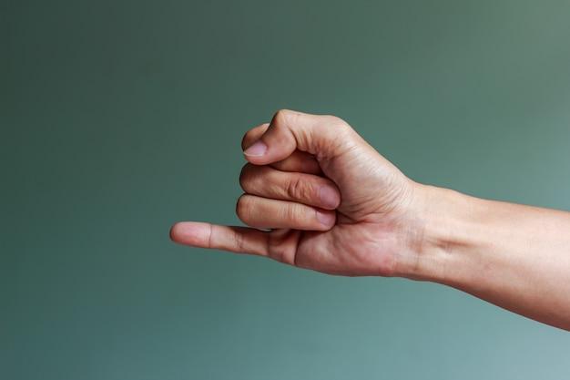 Um dedo mindinho