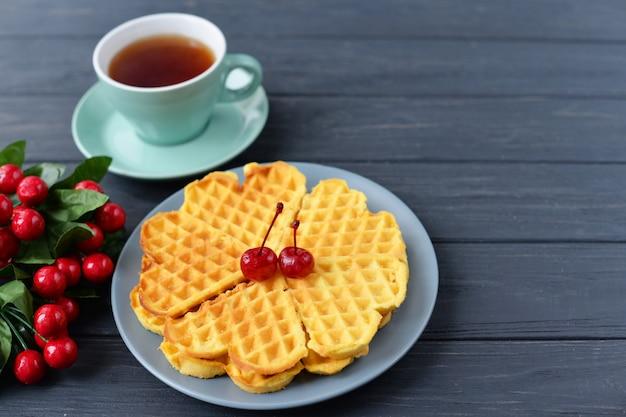 Um delicioso café da manhã
