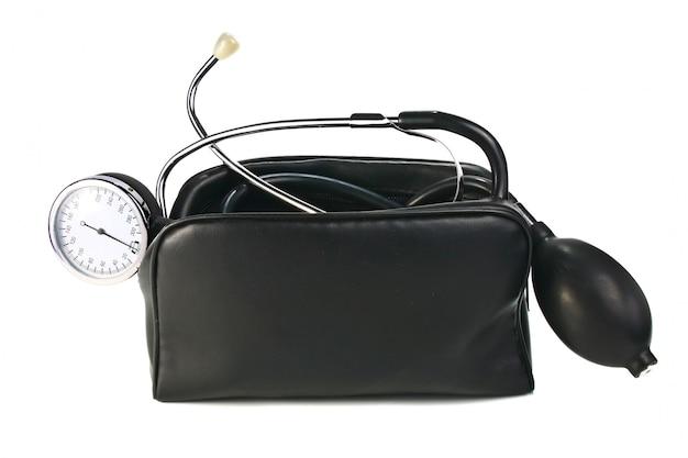Um dispositivo de leitura de pressão arterial