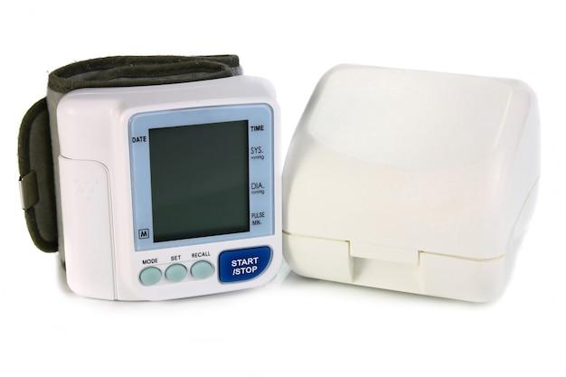 Um dispositivo eletrônico de leitura de pressão arterial