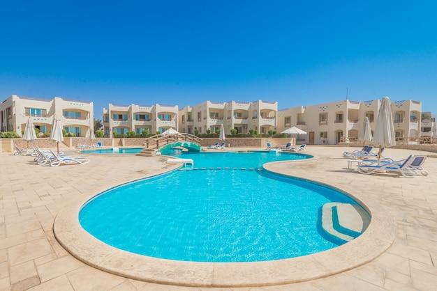 Um dos melhores resort em sharm el sheikh, egipto