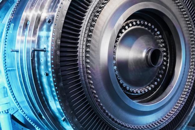 Um elemento estrutural de uma turbina com pás para aviação e geração de energia. o conceito de tecnologia