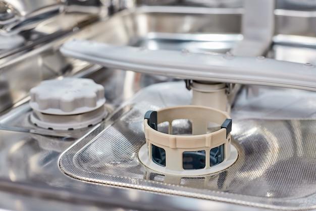 Um filtro de máquina de lavar louça