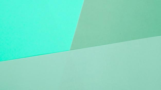 Um fundo de papel colorido de hortelã vazia