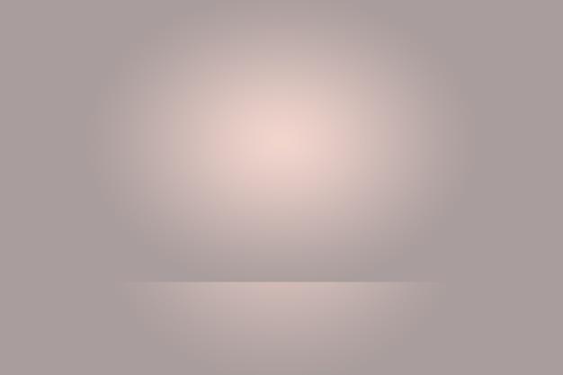 Um fundo suave com desfoque de gradiente vintage com um poço de cor pastel usado como estúdio, apresentação de produto e banner Foto gratuita