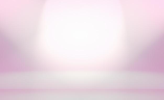 Um fundo suave do vintage gradiente desfocado com um poço colorido pastel usado como estúdio, apresentação de produto e banner.