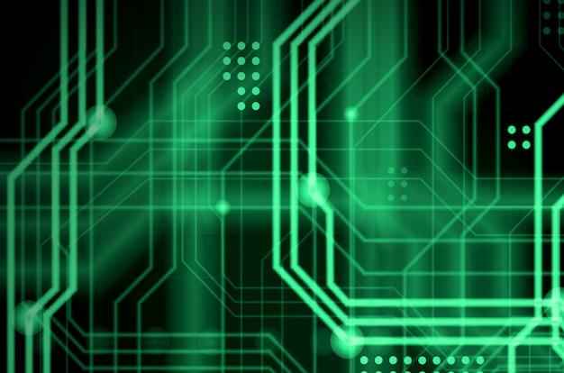 Um fundo tecnológico abstrato