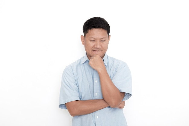 Um jovem asiático