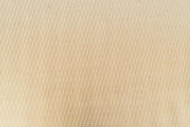 Um lençol de borracha, tiras de borracha e textura