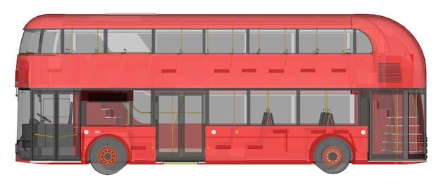 Um ônibus de dois andares