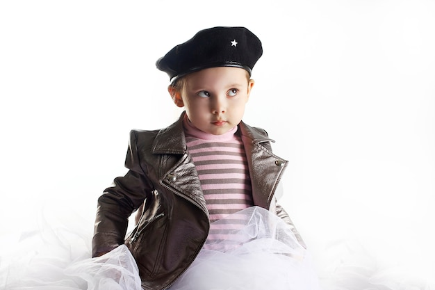Um retrato do cosplay da menina che guevara.