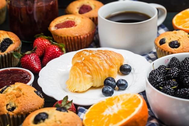 Um sumptuoso pequeno-almoço