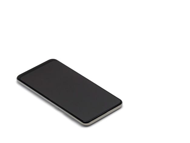 Um telefone inteligente isolado