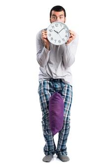 Um tempo de alerta hora de sono