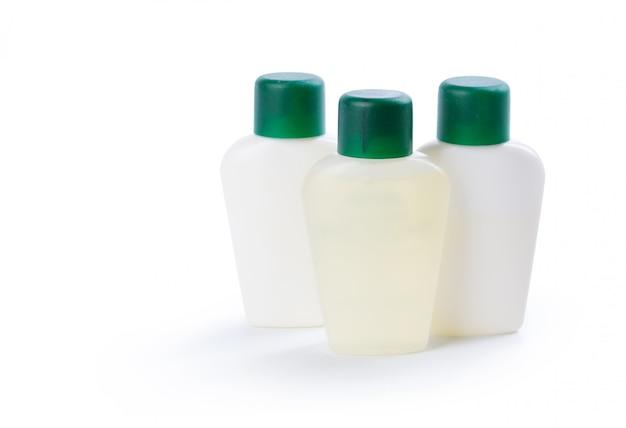 Um, tubos, de, cosméticos, isolado