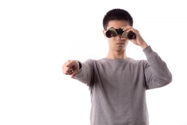 Uma distância de moda luneta moderna