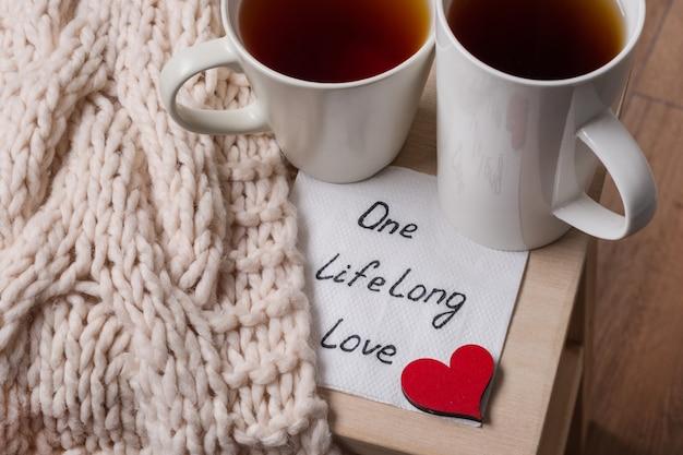 Uma longa vida de amor é uma imagem simbólica abstrata