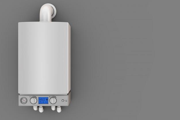 Uma moderna caldeira turbofan