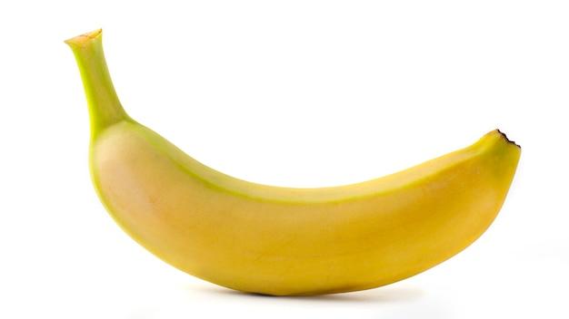 Uma pequena banana madura