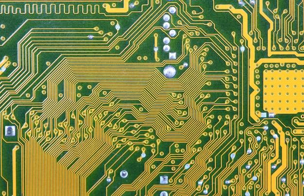 Uma placa de circuito