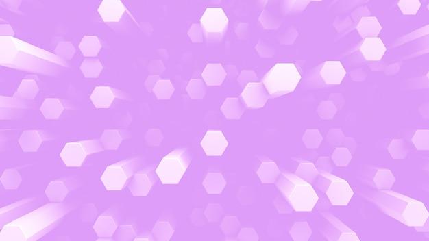 Uma pluralidade de células-bastonete. fundo futurista abstrato