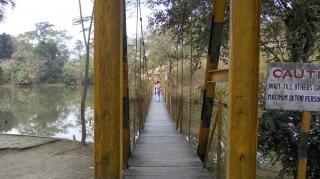 Uma ponte que pendura