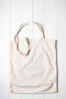 Uma sacola de compras de pano