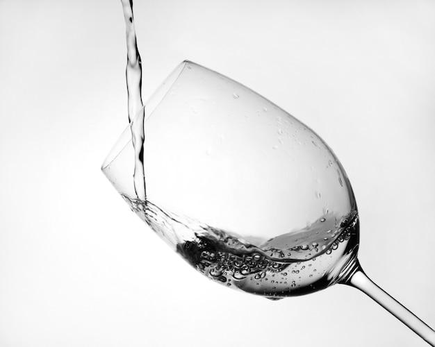 Uma taça de vinho