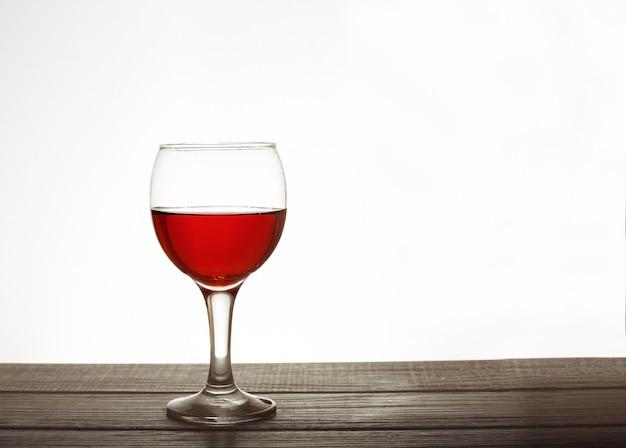 Uma taça de vinho.