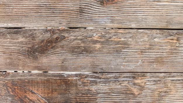 Uma visão aérea do cenário texturizado de madeira