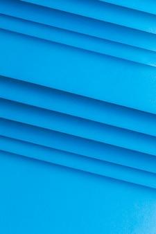 Uma visão aérea do papel em branco listrado fundo