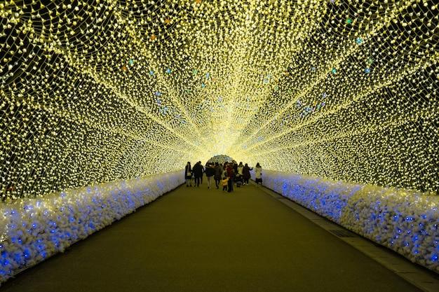 Unen de luzes no japão