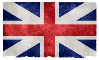 União britânica grunge bandeira