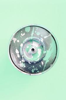 Único spray usado para graffiti