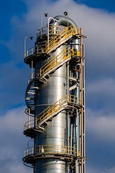 Unidades para produção de ácido nítrico em fábrica de fertilizantes