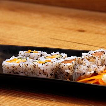 Uramaki philadelphia sushi