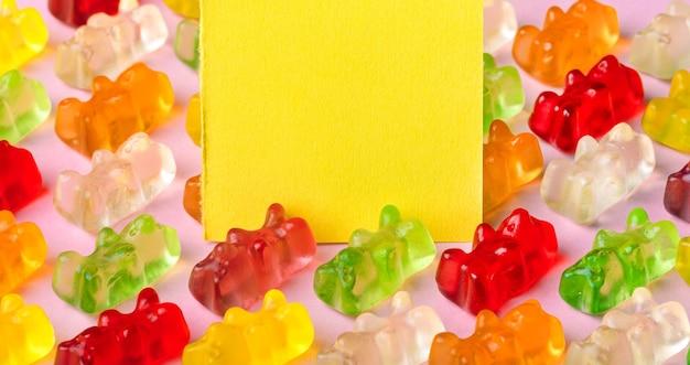 Ursinhos de gelatina