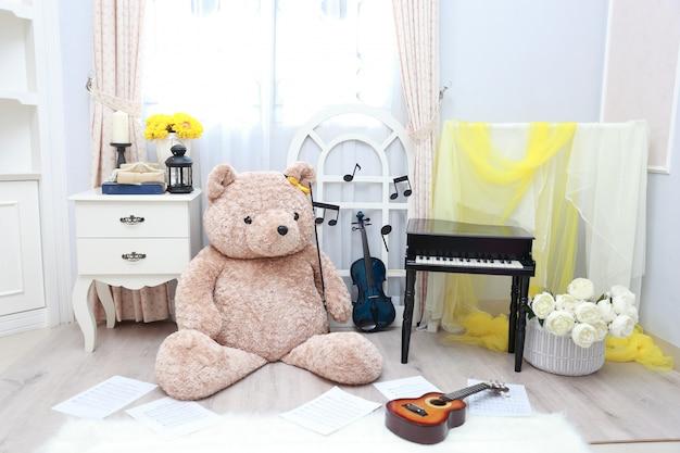 Urso de peluche musical