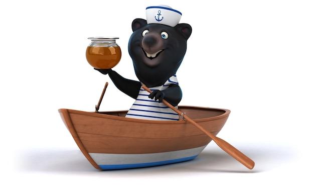 Urso divertido