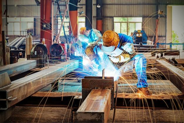 Usina de aço faísca