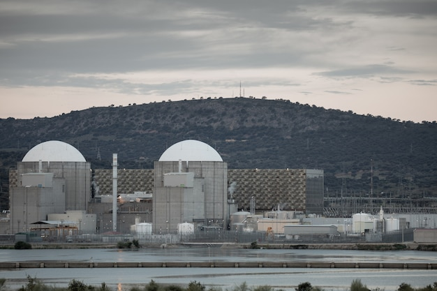 Usina nuclear no centro da espanha